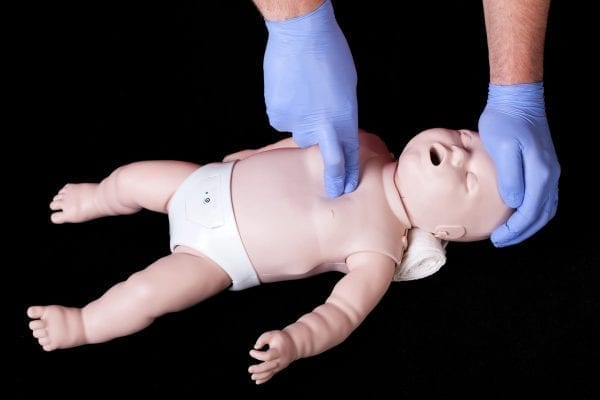 infant and child CPR in Hamilton