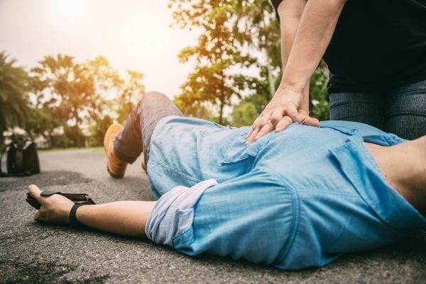 emergency first aid cpr training