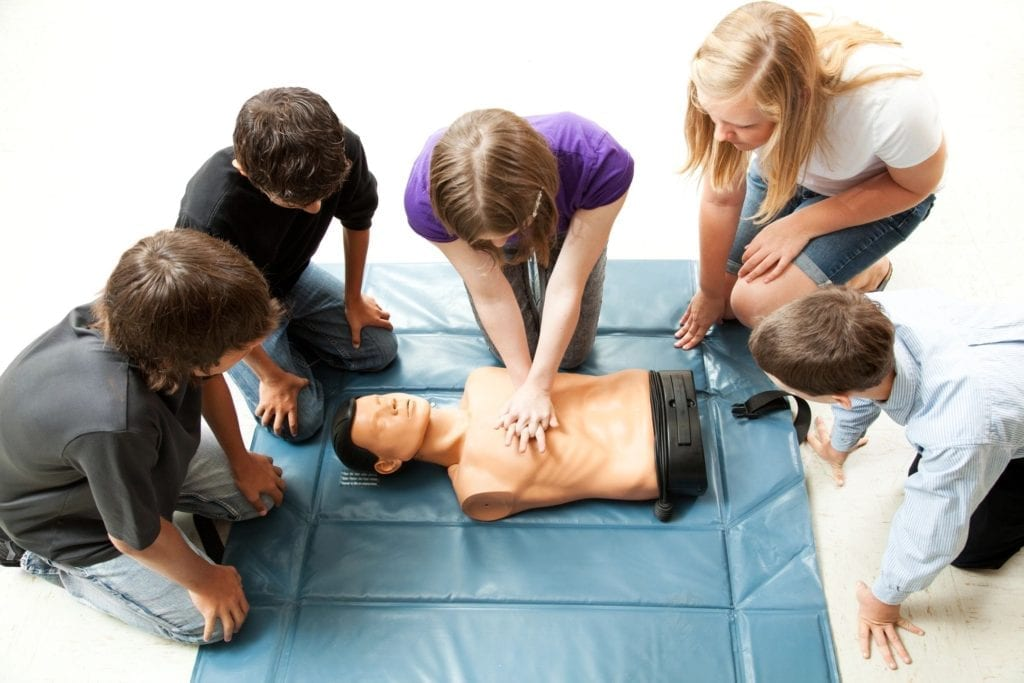 CPR & First Aid training in Hamilton