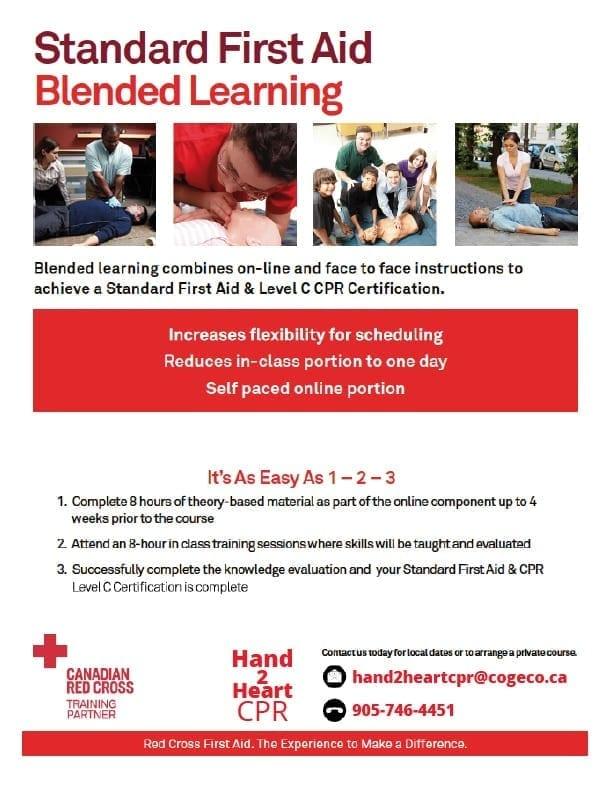 Hand2heart Cpr First Aid Cpr Training Hamilton Burlington